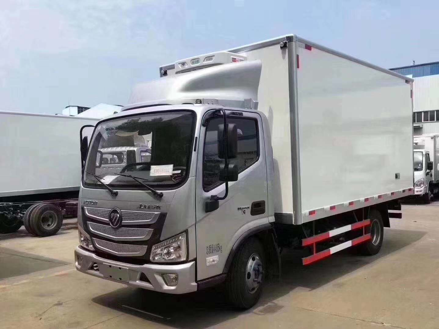 国六福田欧马可S3冷藏车